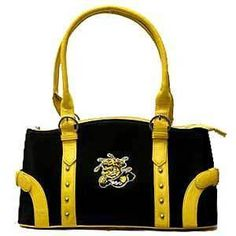 Wichita State Shockers Licensed Embroidered Handbag