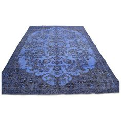 Oriental Turki̇sh Overdid Rug - 6.2 x 10.0 ($1,500) ❤ liked on Polyvore featuring home, rugs, traditional handmade rugs, asian area rugs, oriental style rugs, handmade rugs, asian rugs and wool rugs
