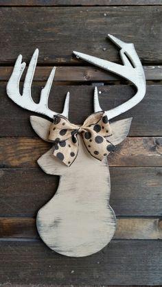 Deer head door / wall hanging