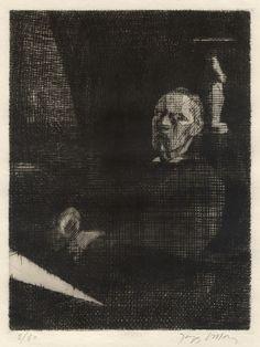 Jacques Villon, drypoint