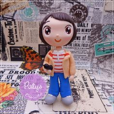 Miniatura Mike - Stranger Things - Paty's Biscuit