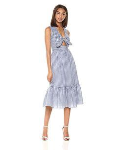 2d036548101 Amazon.com  Shoshanna Women s Gilroy Midi Sleeveless Shift Dress  Clothing
