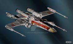 14 Star Wars - XWing by cosovin on DeviantArt