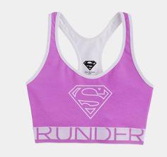 Women's Under Armour Supergirl Sports Bra