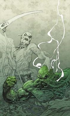 """Charles Soule Announced As New """"Swamp Thing"""" Writer - Comic Book Resources"""