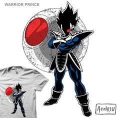Warrior Prince - Propuesta para camiseta de Andriu presentada a concurso en Pampling. Admirala, votala y comentala en Pampling.com. Siguenos en facebook.com/pampling