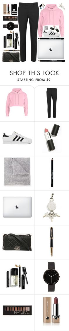 """No headlights"" by itaylorswift13 ❤ liked on Polyvore featuring RED Valentino, adidas, Sigma Beauty, Lucien Pellat-Finet, Givenchy, Alexander Wang, Chanel, Parker, Bobbi Brown Cosmetics and I Love Ugly"