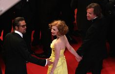 More Pics of Jessica Chastain Evening Dress