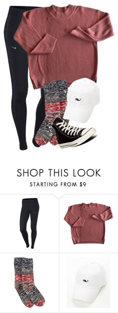 """IM MAY BE GETTIN A POLAROID CAMERA SOON. COMMENT WHAT COLOR I SHOULD GET IM THINKING LIGHT PINK"" by elizabethannee ❤ liked on Polyvore featuring NIKE, Hue and Converse"