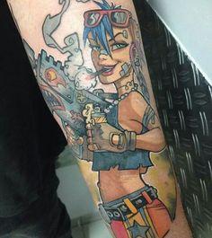 Another badass Tank Girl byTank Girl Emy of Blacksheep Tattoo. Girls With Sleeve Tattoos, Girl Tattoos, Best Comic Books, Ink Addiction, Tough Girl, Tank Girl, Skin Art, Comic Strips, Tattoo Inspiration