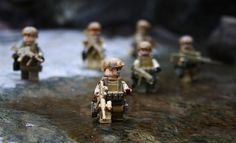 Lego delta team in action.