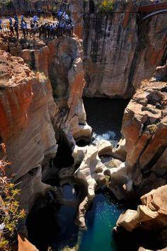 Le canyon de la rivière Blyde