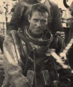 Paulette's father James J. McKeever American Naval Diver