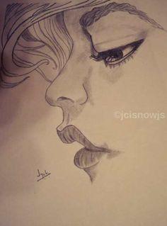 Thinker - sketch by Jyoti Singh