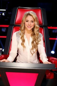 "LAS CADERAS TABASCO: Fotos: Shakira en ""The Voice"" (12/05/14)"