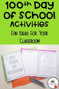 Classroom Jobs, Primary Classroom, Classroom Activities, Preschool Kindergarten, 100 Day Of School Project, 100 Days Of School, School Projects, School Displays, Classroom Displays