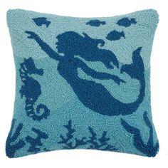 mermaidhomedecor - Mermaid Throw Pillow $32.99