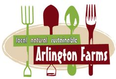 My logo design for a local, sustainably grown family farm, Arlington Farms. www.nakedeyegraphicdesign.com