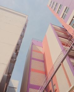 Pastels on buildings * Where does inspiration come from? * The Inner Interiorista Aesthetic Architecture Geometric Photography Pastel Colors Classification Des Arts, Blue Photography, Photography Aesthetic, Minimal Photography, Photography Backdrops, Professional Photography, Portrait Photography, Coral Pantone, Art Blue