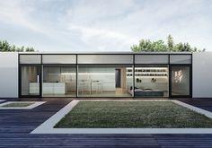 Borderland House by Fuel Design , via Behance