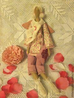 """Куклы Тильды ручной работы. Ярмарка Мастеров - ручная работа Тильда """"Ангел добрых снов""""  для Ирины. Handmade."""