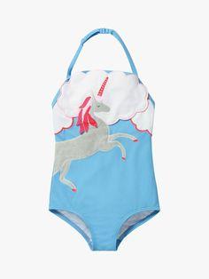 Girl/'s Justice Bikini Swim Bottom Royal Blue Unicorn Reversable NWOT