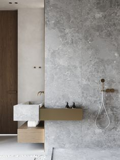 Dreaming of a designer or luxury bathroom? We've gathered together lots of gorgeous bathroom ideas for small or large budgets, including baths, showers, sinks and basins, plus bathroom decor ideas. Modern Bathroom Design, Bath Design, Bathroom Interior Design, Bathroom Designs, Tile Design, Diy Interior, Luxury Interior, Modern Design, Interior Decorating