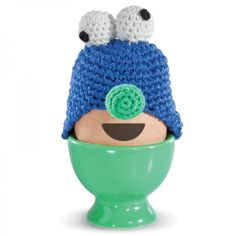 Eierwärmer Funky Eggs Egg Monster - donkey products #cozy #cosy #funny #cover