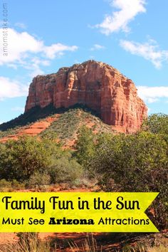 Inexpensive family-friendly Arizona attractions. @ResidenceInn #RIFamily @amomstake