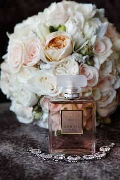 Pictured: Chanel - Coco Mademoiselle It would be great to take a photo of your bouquet and the perfume you wear that day together =]!!!