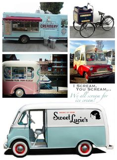 sweet lucie's vintage ice cream truck