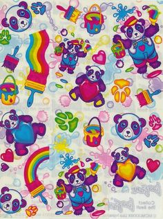 Lisa Frank....OMG totally had a awesome Lisa Frank sticker collection ;)