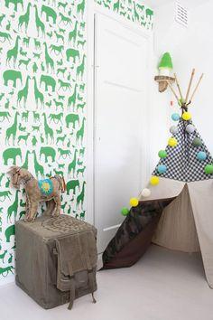 papel pintado dormitorio niños- tippi