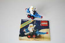 * LEGO 6804 Space Classic Raumfahrt aus 80er Jahren mit Bauanleitung *