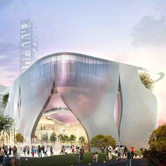 #HK's upcoming Xiqu Centre by Bing Thom & Ronald Lu will showcase authentic #HK culture, particularly Chinese Opera, in the West Kowloon Cultural District