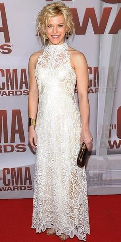 Kimberly Perry of The Band Perry (CMAs):)