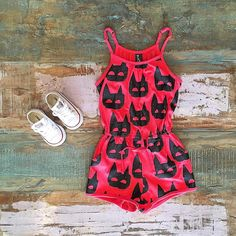 GIRLS • Minti heroes playsuit (on sale!) & Converse kids Chucks. Shop these styles at Tiny Style in Noosa & online. See our promos page for current free shipping deals including international ✈•  www.tinystyle.com.au
