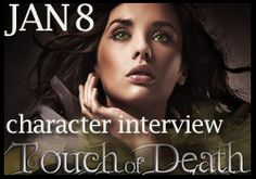 Check out our {Character Interview} with Alex from Touch of Death by Kelly Hashway