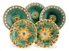 Google Image Result for http://www.christies.com/lotfinderimages/D54054/six_english_majolica_plates_in_the_stanley_pattern_and_two_lobed_plate_d5405421h.jpg