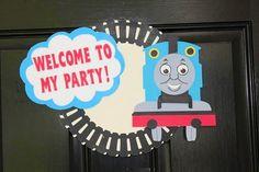 Personalized Thomas the Train/ tank engine by MandySeeMandyDo