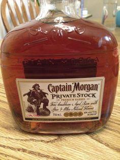 Captain Morgan - Private stock.