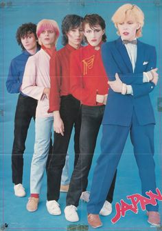 British band Japan, released in the United States in 1982 on the Epic Records label.