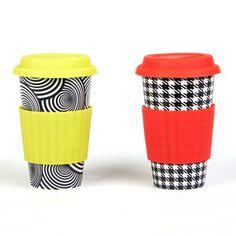 Eco Cup Graphic Black