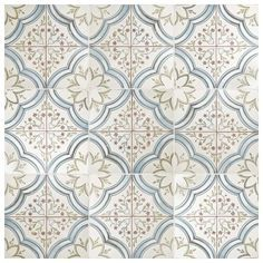 Bring a versatile and clean appearance to your home by choosing this Merola Tile Nijar Ceramic Floor and Wall Tile. Kitchen Tiles, Kitchen Flooring, Ceramic Flooring, Garage Flooring, Slate Flooring, Terrazzo Flooring, Rubber Flooring, Bedroom Flooring, Flooring Ideas