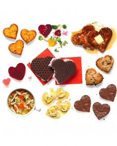 Heart-Shaped Valentine's Day Foods