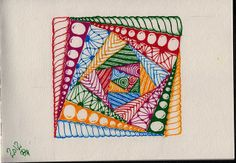 zentangle 12 by sheridanwild, via Flickr