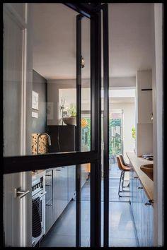 stalen deur op maat Divider, Windows, Interior Design, Room, Furniture, Home Decor, Seeds, Nest Design, Bedroom