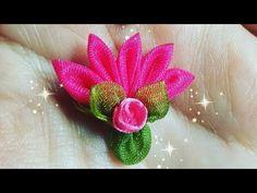 Özlem Topal - YouTube Organza Flowers, Felt Flowers, Nylon Flowers, Ribbon Art, Ribbon Crafts, Flower Video, Projects To Try, Ornaments, Blog