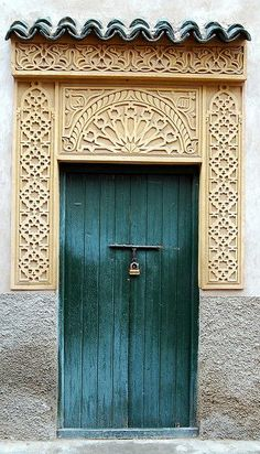 Marrakech doorway