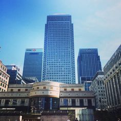 Canary Wharf in the sun is the one  by laurenmole90